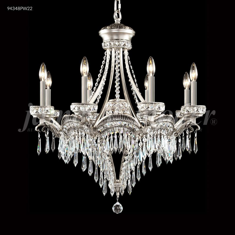 Dynasty Cast Br 8 Arm Chandelier 18x51 Lighting Palace