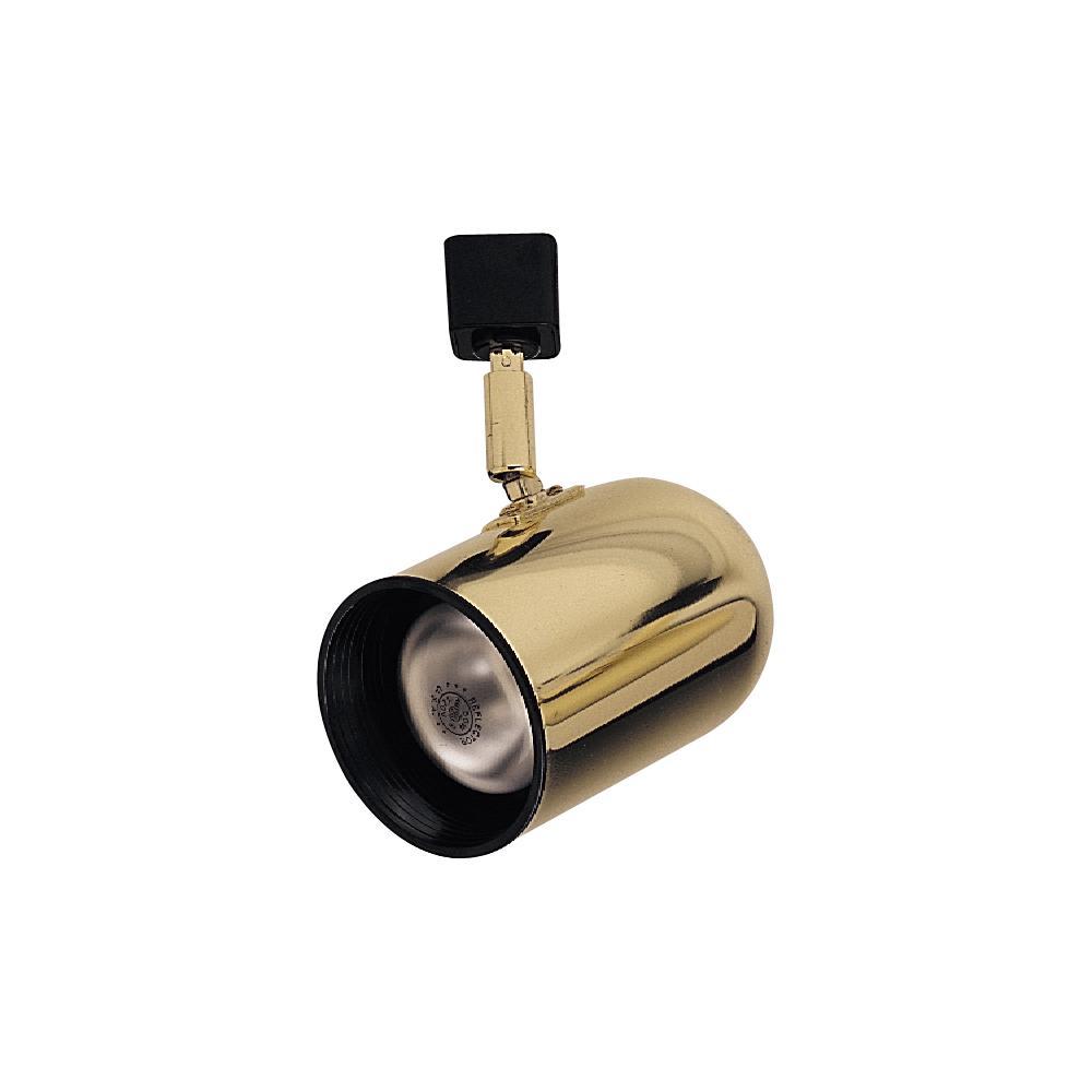 One light brass track head 17eh2 lighting palace one light brass track head aloadofball Image collections
