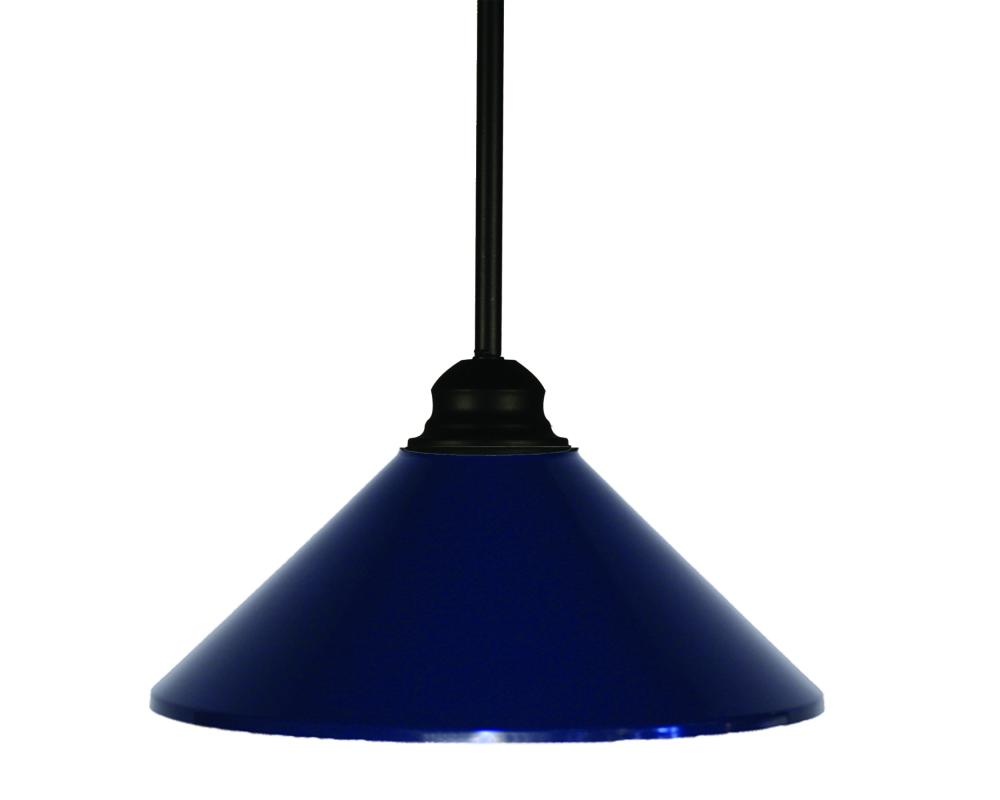 one light matte black navy blue glass down pendant 22c7j lighting