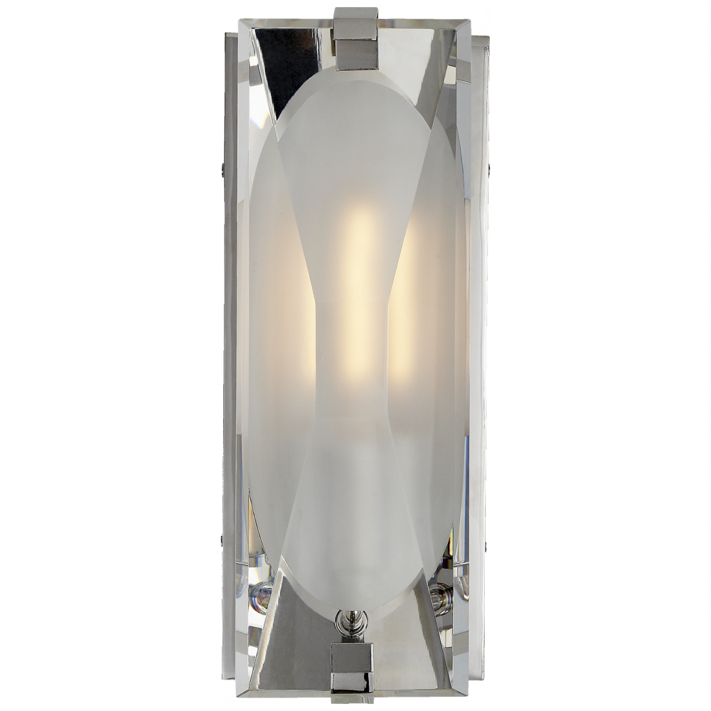 hero savoy polished sconce nickel