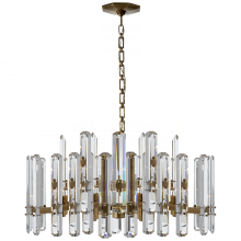 Visual Comfort ARN 5125HAB-CG - Bonnington Large Chandelier in Hand-Rubbed Antiq