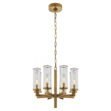 Visual Comfort KW 5200AB-CRG - Liaison Single Tier Chandelier in Antique-Burnis