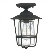 Capital 9607BK - 1 Light Outdoor Ceiling
