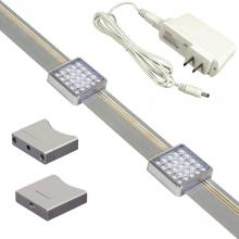 Jesco KIT-SD131-TR2-A - JESCO Orionis 2ft Square LED Track Kit