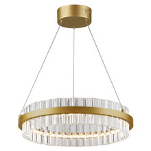 Dainolite REI-18LEDC-VB - 36W LED Chandelier, Vintage Bronze Finish
