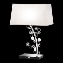 963ba680548 Crystalon Lamp 2 Light 110V Table Lamps in Stainless Steel with Clear  Crystals From Swarovski and Sh (7REZV)